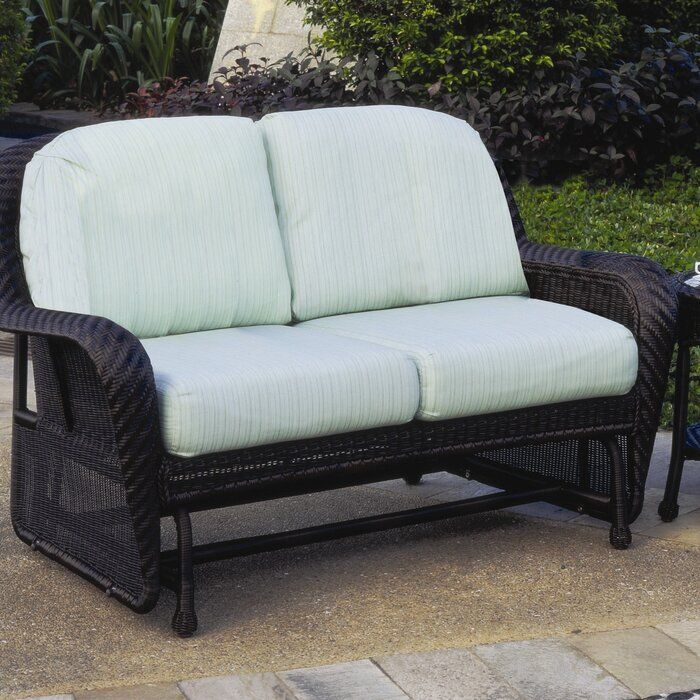 592d45f79b0809fed34ce93f174b09a0 - Better Homes And Gardens Colebrook Outdoor Glider Bench
