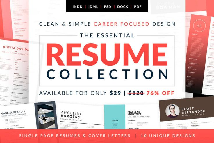 A beautiful CV template collection to help you land that dream job you want! Comes in doc, indd and psd formats. #CV #Template #Resume #Bob #Jobseeker #Jobhunting #JobSearch #Design #CVtemplates #Career