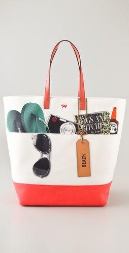 anya hindmarch beach tote (@Shopbop)