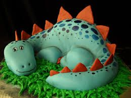 how to make a dinosaur cake - Google Search