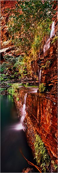 Karijini National Park, Pilbara, Western Australia - photo by Adam MonkNature, Karijini National, Adam Monk, National Parks, Circular Pools, Gorge Wall, Westerns Australia, Australia Parks, Western Australia