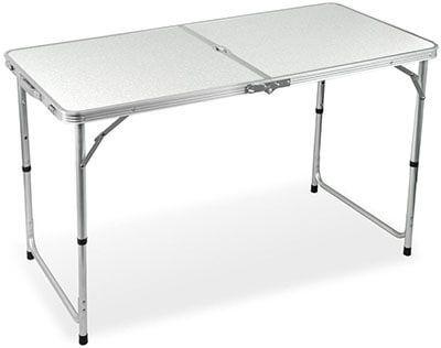 Yaheetech Aluminum Folding Camping Table