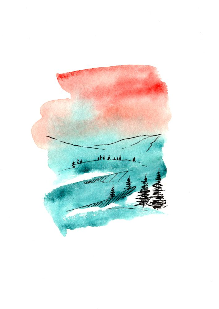 List Of Pinterest Pen And Watercolor Pictures Pinterest Pen And