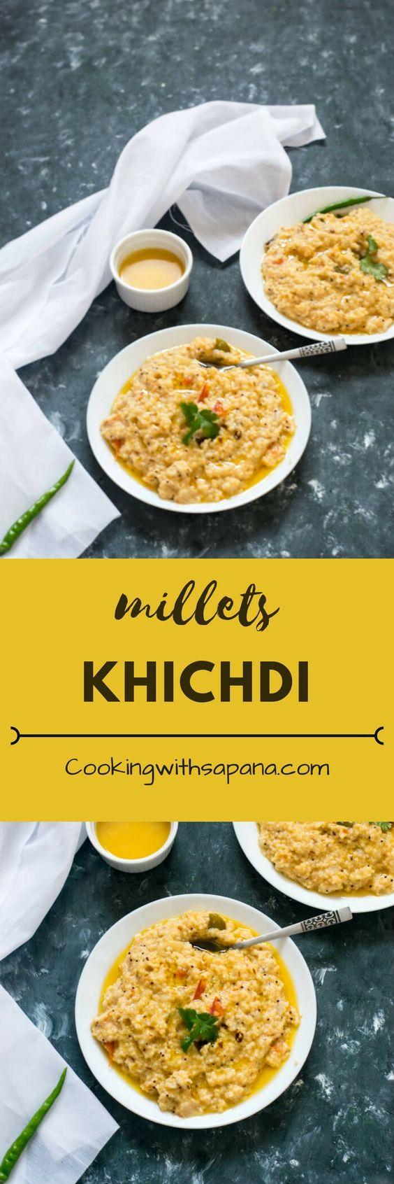 millets khichdi   kodo millet khichdi recipe   healthy millets khichdi