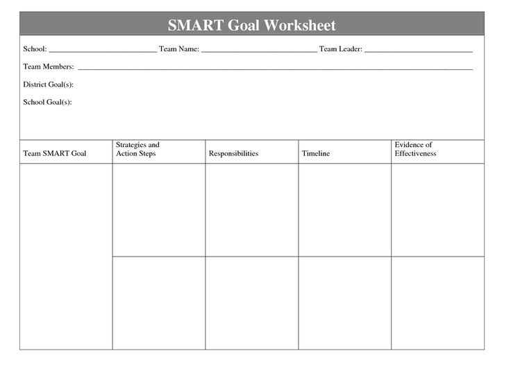 The  Best Goals Worksheet Ideas On   Goal Setting