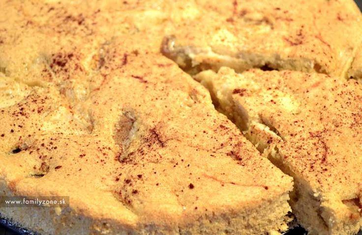 Špaldový jablkovo hruškový koláč so škoricou – recept | www.familyzone.sk