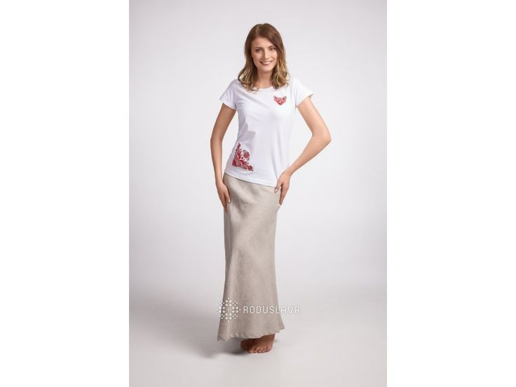 Sukně lněná dlouhá dvoudílná v přírodní barvě. Dámská lněná sukně dlouhá Ověř si velikost v tabulce velikostí