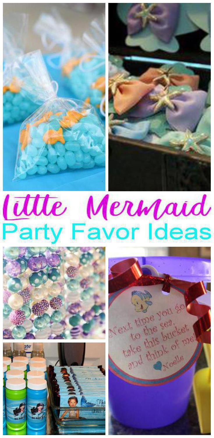 Little Mermaid Candy Bag Ideas Wwwtopsimagescom