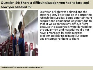 40 best pdf images on pinterest questions with answers interview ebook 80 flight attendant interview questions supported by davinetmedia fandeluxe Choice Image