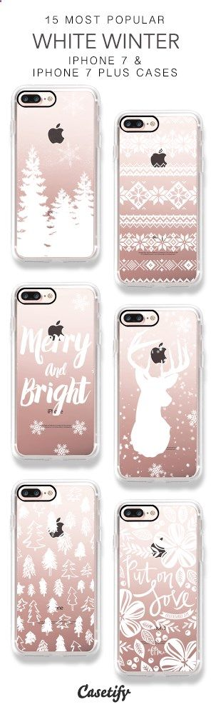 Phone Cases - 15 Most Popular White Winter iPhone 7 Cases & iPhone 7 Plus Cases here > www.casetify.com/...