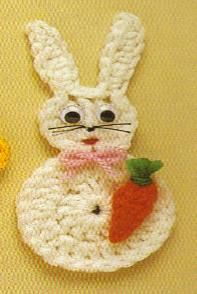 Easter Bunny Magnet Pattern