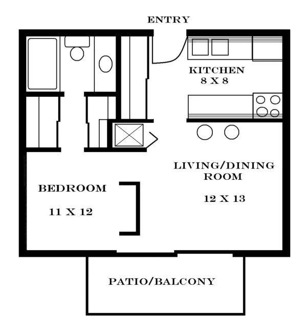 Top 25+ Best Small Apartment Plans Ideas On Pinterest
