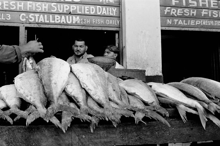 The old fish market in Hanover Street, District Six, Cape Town, South Africa.