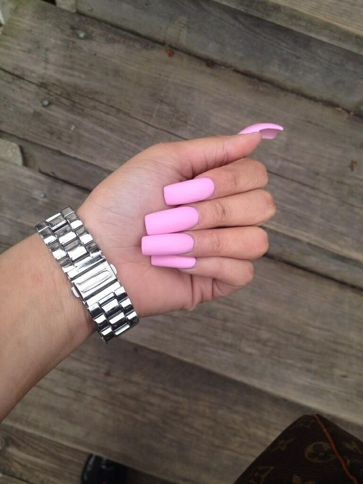 a little long for my taste...but love the barbie pink color!