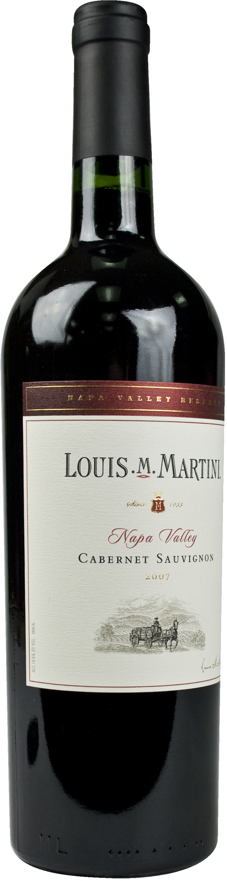Louis Martini Cab from Napa valley. good stuff