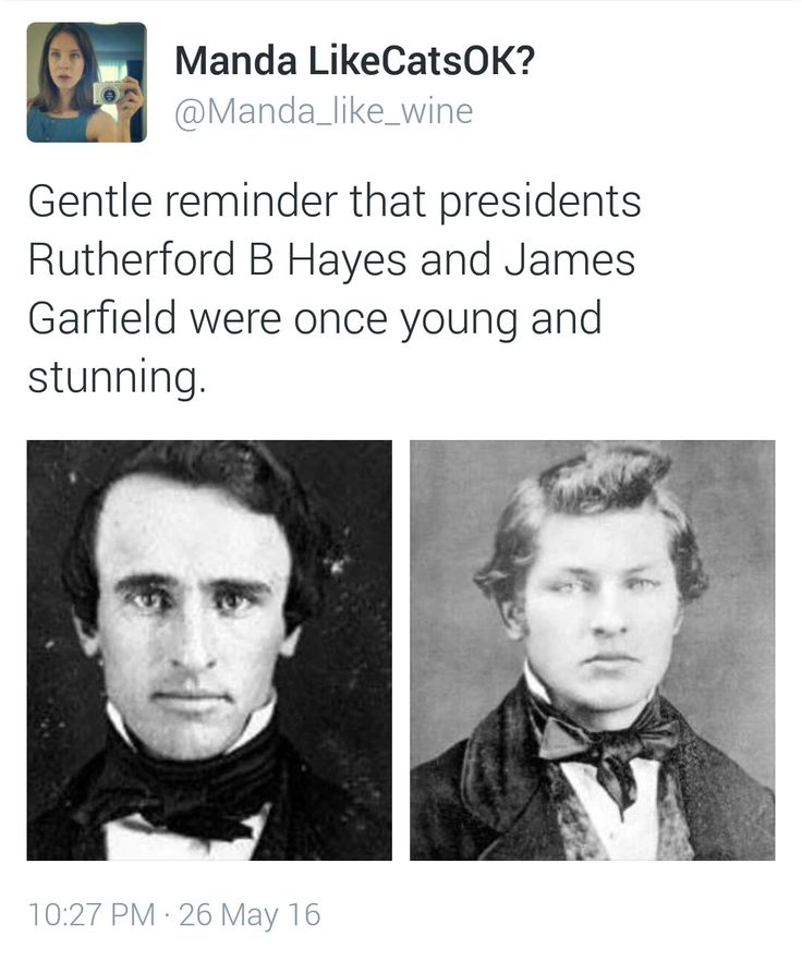 Rutherford B. Hayes, James Garfield