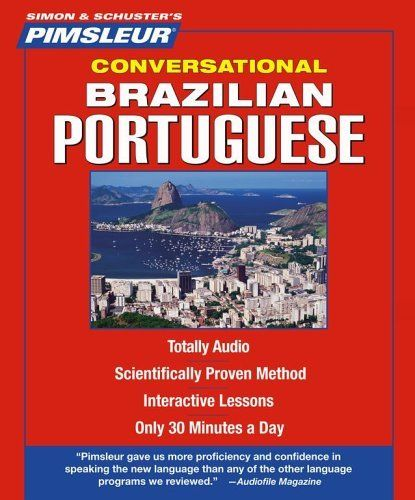 Portuguese (Brazilian), Conversational: Learn to Speak and Understand Brazilian Portuguese with Pimsleur Language Programs (Pimsleur Instant Conversation) by Pimsleur. $31.22. Edition - Revised, 16 Lessons. Publisher: Pimsleur; Revised, 16 Lessons edition (October 3, 2005)