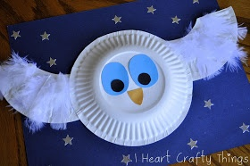 o is for owl - I HEART CRAFTY THINGS: The Little White Owl Craft