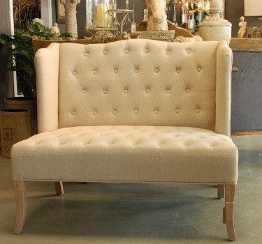 European Designed High Back Love Seat Sofa - Complete Pad ®