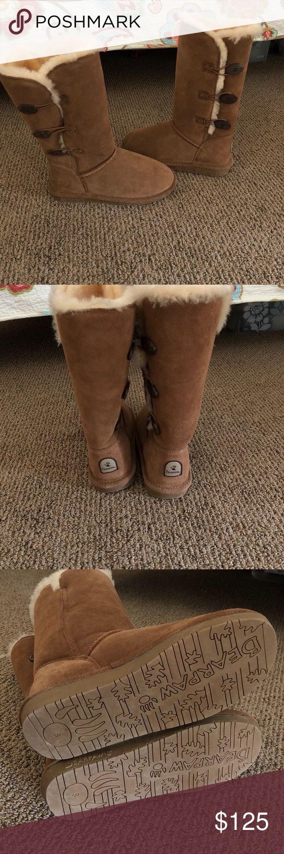 NWOT bear paw boots NWOT. Women's 8. BearPaw Shoes Winter & Rain Boots