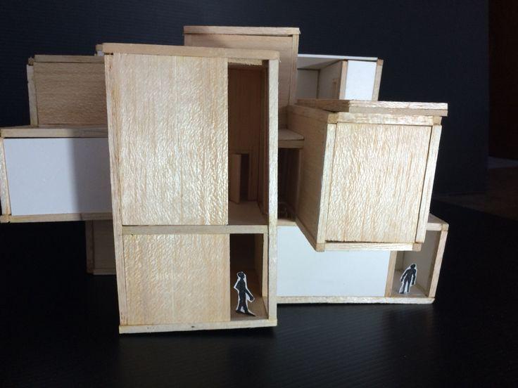 Model perkembangan 3 ( expose kolom balok)