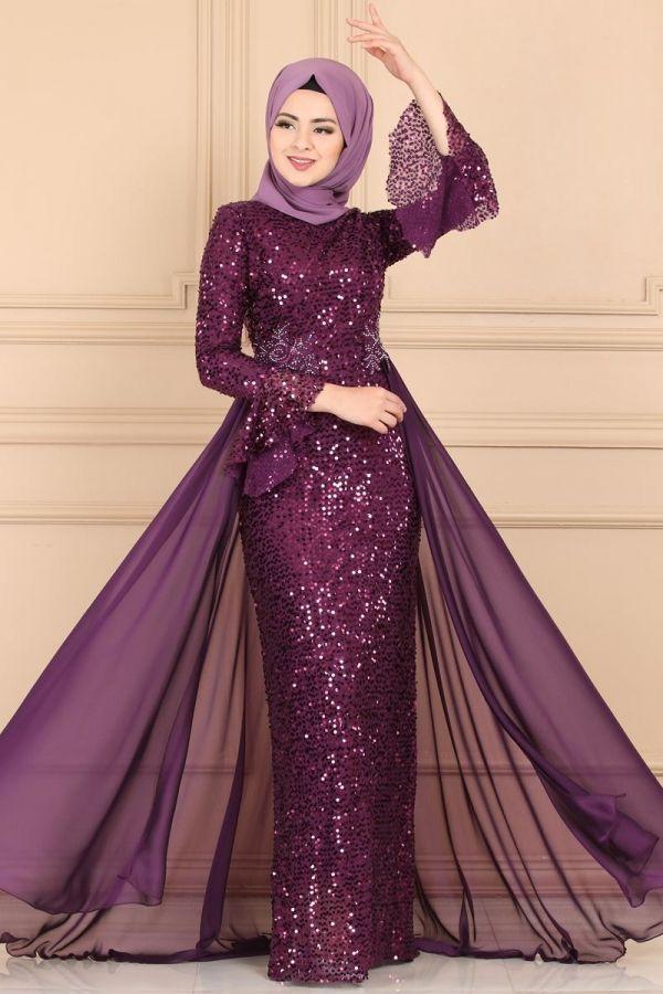 Modaselvim Abiye Pul Payetli Balik Abiye Pn2028 Murdum Pakistani Fashion Fashion Formal Dresses Long