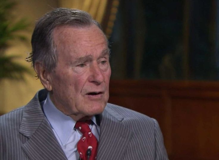 "Former president George H.W. Bush has been hospitalized, according to the Houston Chronicle and Houston TV station KHOU.  Bush's chief of staff, Jean Becker, says he was admitted to Houston Methodist Hospital after falling ill. Becker tells the Houston Chronicle and KHOU that Bush is ""doing fine."""