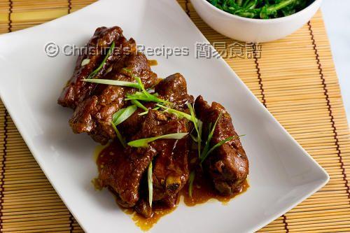 燜蜜汁排骨【滋味好味】 Braised Honey Pork Ribs - 簡易食譜: 中西各式家常菜譜