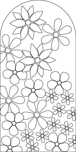 flower mosaic coloring pages | Image detail for -... Inspiration Pictures: Stylish Mosaic ...