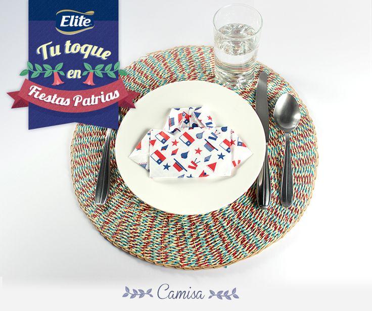Tu toque en Fiestas Patrias con ELITE - Haz una Camisa y descubre cómo decorar tu mesa este 18 de septiembre.