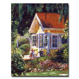 @Overstock - David Lloyd Glover 'Artist's Summer Cottage' Canvas Art - Artist: David Lloyd GloverTitle: Artist's Summer CottageProduct Type: Gallery-wrapped canvas art   http://www.overstock.com/Home-Garden/David-Lloyd-Glover-Artists-Summer-Cottage-Canvas-Art/7538635/product.html?CID=214117 $52.99