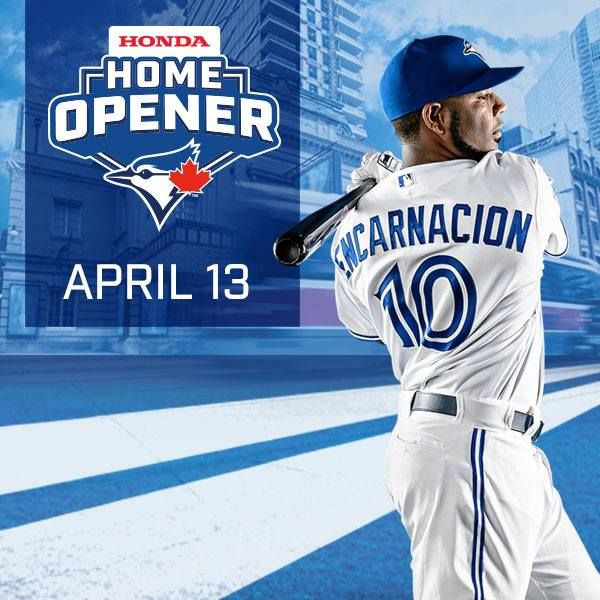 Don't Miss Out! There are a limited number of Honda Home Opener Tickets still available when you purchase a 2015 Blue Jays Flex Pack. Get them now while they are still available! http://atmlb.com/1DNgLmr