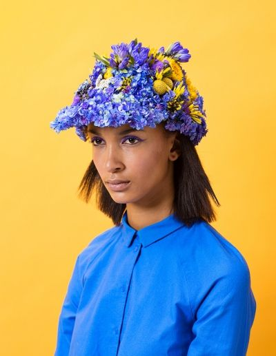 Flower cap by Laura Väinölä www.floraandlaura.com