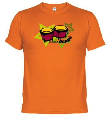 Bongos t-shirt. Buy online on http://percussion.spreadshirt.com