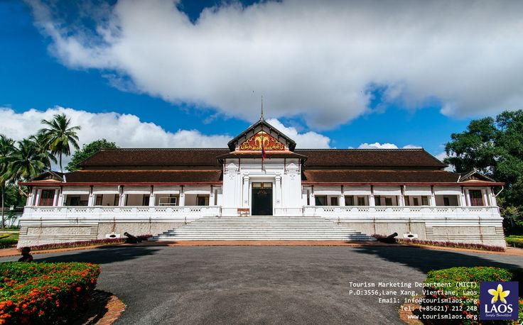 "Royal Palace Museum Located in the heart of Luang Prabang, the Royal Palace Museum was first constructed in 1904 in the French colonial era. Visit the museum and see the real ""Prabang"" Buddha image."