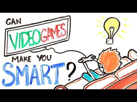 """This video created by AsapSCIENCE depicts many different ways in which video games improve one's mind, despite being linked to things like violence and laziness. Most of these benefits revolve around the person's ability to multitask and retain information better. One such example involves the viewer saying the actual color of a word that is a color (ex: a red """"blue""""). It is important to note how the narrator prefaces the video by saying that anything can be bad in excess."""
