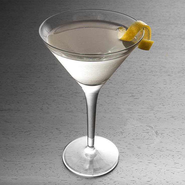 Dry Martini: The Dry Martini is as timeless as a tailored suit. Simple, sophisticated and garnished with a lemon twist, it's the ideal Father's Day cocktail.