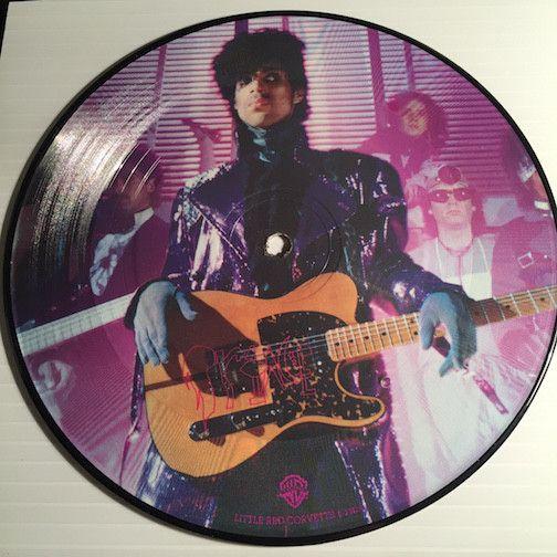 Prince - Little Red Corvette b/w 1999 - WB #20129 - Colored vinyl - 80's