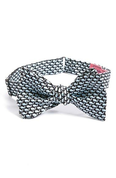 Vineyard+Vines+Whale+Print+Silk+Bow+Tie+available+at+#Nordstrom