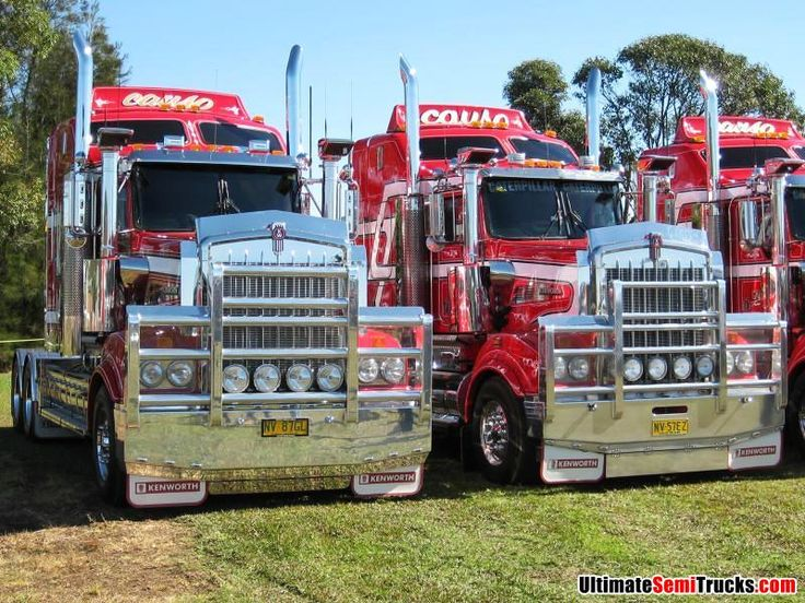 Australian Truck Show! Causley Transports Kenworth Trucks. Visited this museum when in Alice Springs in 2012. I was in my element