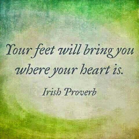 Mm mm que verdad!! Tu corazón ya sabe donde quieres estar y donde pertenecer...❤️