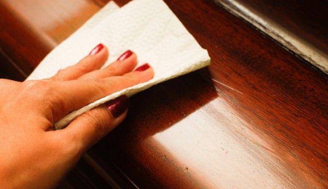 Как сделать крем-блеск для деревянной мебели? 0