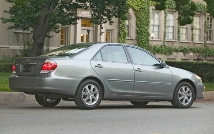 Toyota Camry 2005 Tire Size