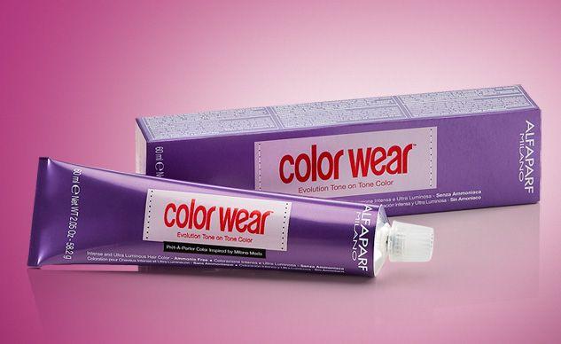 Color Wear ammóniamentes hajszínezô, a természetes rostszínezékek titkaiból Intenzív és ultraragyogó árnyalatok • Példátlanul hosszú tartás • Rendkívülien kondicionált és érezhetôen lágy haj