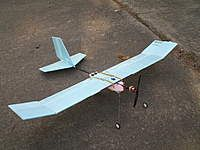 Foam board trainer plane, with Kfm3 airfoil and 50 inch span, by Russ40 from RC…