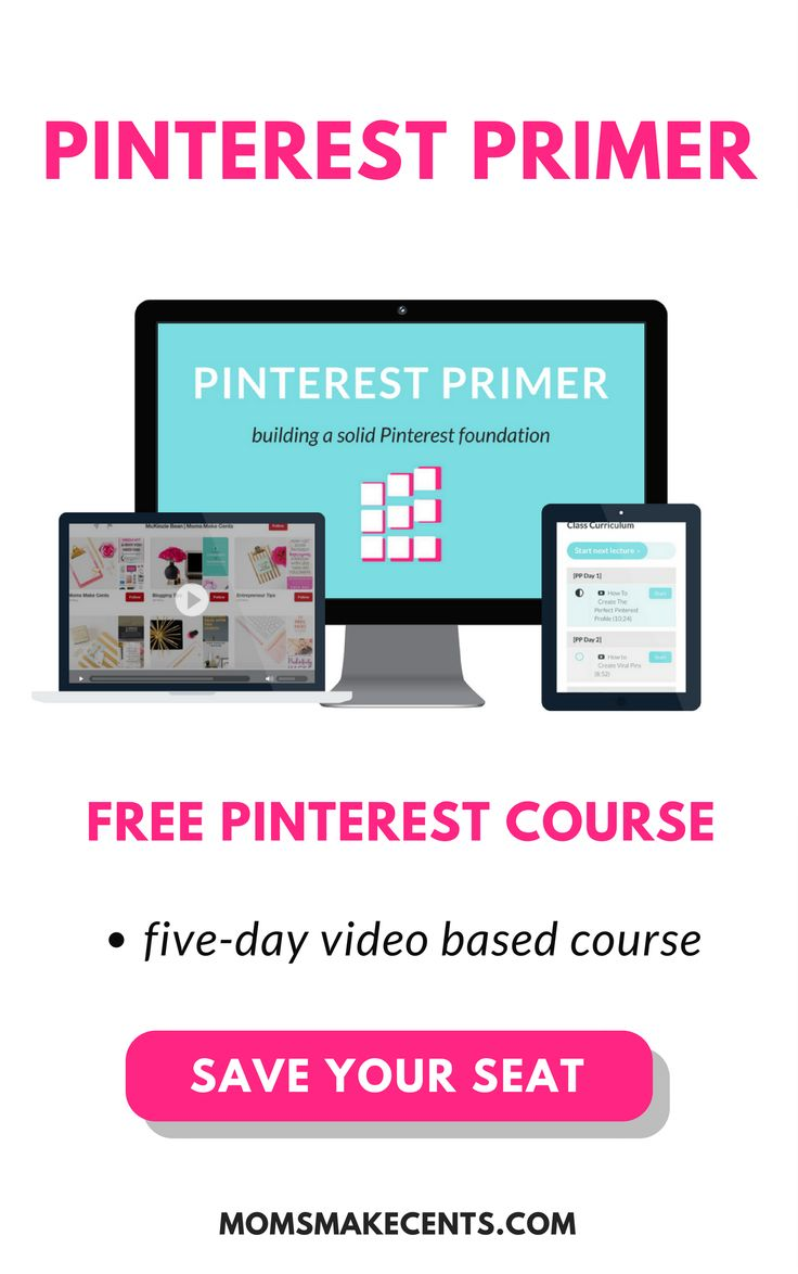 Learn how you can build a strong Pinterest foundation with this free 5-day video-based course. #aff