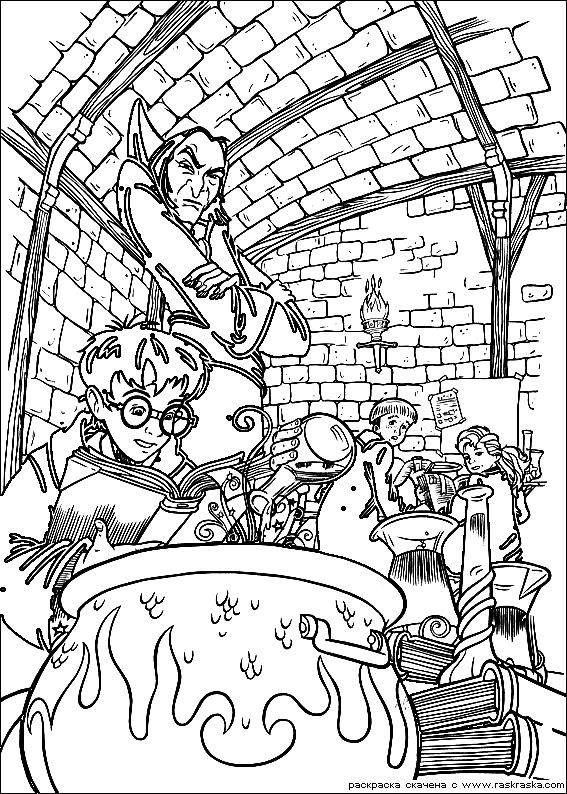 Harry Potter Coloring Pages 10 Harry Potter Kids