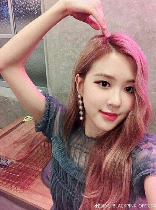 beauty  cute  selca  rose  blackpink