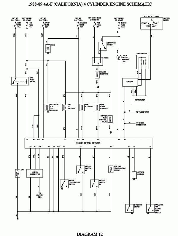 15 Toyota 5a Fe Engine Wiring Diagram Engine Diagram Wiringg Net Repair Guide Toyota Diagram