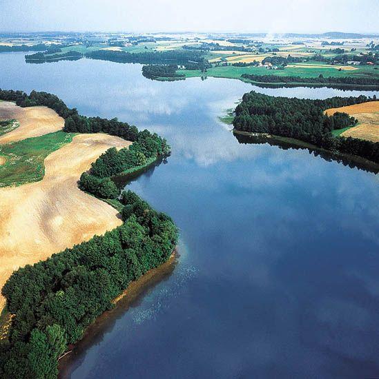 Mazury, Poland; podróż śródlądowa ;)